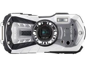 RICOH WG-40W [ホワイト] SDHCカード4GB付き