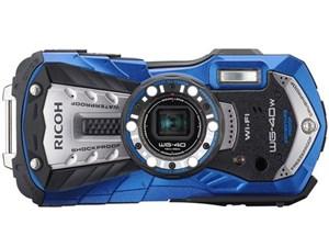 SD8GB付 RICOH WG-40W [ブルー] 【送料無料】