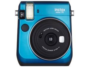 フジ instax mini 70 チェキ [ブルー]:hitmarket