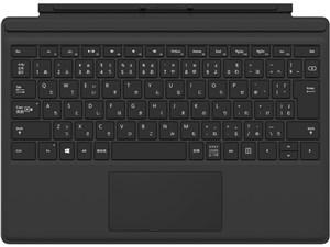 Surface Pro 4 タイプ カバー QC7-00070 [ブラック]
