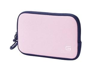 エレコム デジカメケース/ネオプレン/Sサイズ/ストラップ無し/ピンク DGB-065・・・