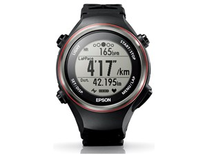 EPSON SF-850PB WristableGPS 脈拍計測/GPS機能/活動量計機能/ブラック 商品画像1:見てね価格kaago店
