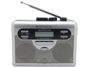 WINTECH【ウィンテック】ラジオ付テープレコーダー PCT-11R★【PCT11R】