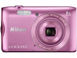 ニコン Nikon デジタルカメラ COOLPIX A300 光学8倍ズーム 2005万画素 ピンク・・・