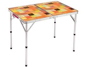コールマン ナチュラルモザイク リビングテーブル/90プラス [2000026752]