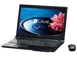 LAVIE Note Standard NS750/EAB PC-NS750EAB [クリスタルブラック] 商品画像1:セブンスター貿易