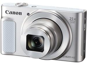 Canon キヤノン コンパクトデジタルカメラ Power Shot 光学25倍ズーム ホワイ・・・