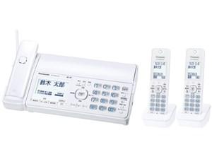 パナソニック 迷惑防止機能を搭載したファクス(機コードレス、子機2台)「おたっくす」 KX-PD505DW-W [ホワイト] 商品画像1:激安家電パレット