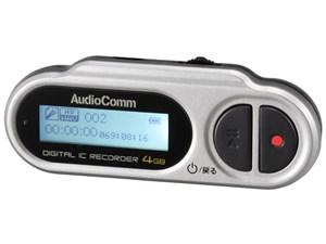 オーム電機 デジタル ミニICレコーダー ICR-U114N