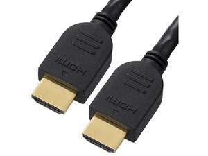 オーム電機 HDMIケーブル(0.5m/黒) VIS-C05HP-K