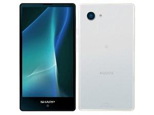 シャープ AQUOS mini SH-M03 SIMフリー [White] (SIMフリー) 商品画像1:ハルシステム