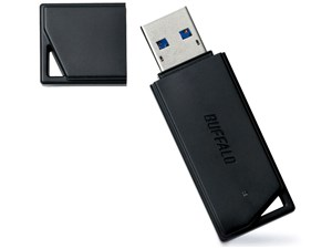 BUFFALO USB3.0用 USBメモリー RUF3-K64GA-BK 64GB ブラック