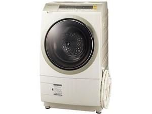 シャープ SHARP 洗濯乾燥機 ドラム式 プラズマクラスター搭載 10Kg 左開き ゴ・・・