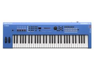 YAMAHA MX61 BU ブルー [61鍵シンセサイザー (専用ソフトケース付き)・・・