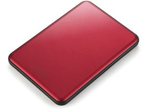 MiniStation HD-PUS2.0U3-RC [レッド]