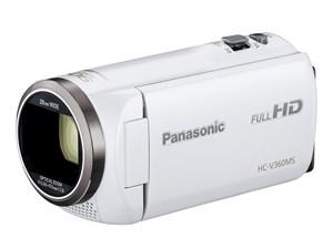 パナソニック デジタルハイビジョンビデオカメラ HC-V360MS-W [ホワイト]