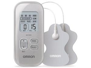 HV-F021-SL オムロン 低周波治療器 シルバー