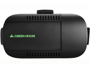 グリーンハウス【GREENHOUSE】VRヘッドセット GH-VRHA-BK★【GHVRHABK】