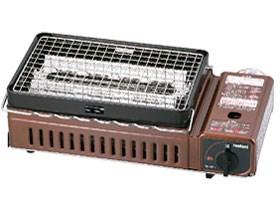 イワタニ CB-ABR-1 メタリックブラウン 炉ばた焼器 炙りや [カセットガス式 ・・・