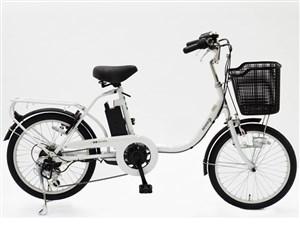 電動アシスト自転車 BENERO20 6Ah ホワイト 商品画像1:プライズプラス