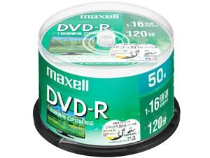 日立マクセル 録画用DVD-R DRD120WPE.50SP