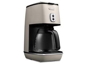 デロンギ ドリップコーヒーメーカー ディスティンタコレクション 6杯 チタン・・・