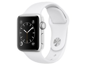 Apple Watch Series 2 38mm MNRQ2J/A [ホワイトスポーツバンド]