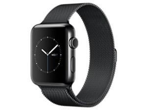 Apple Watch Series 2 42mm MNU92J/A [スペースブラックミラネーゼループ・・・