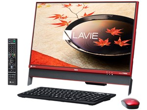 LAVIE Desk All-in-one DA370/FAR PC-DA370FAR [クランベリーレッド・・・