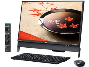 LAVIE Desk All-in-one DA370/FAB PC-DA370FAB [ファインブラック]
