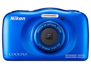 COOLPIX W100 [ブルー] /SDHC8GB付き