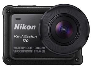 Nikon 防水アクションカメラ KeyMission 170 ブラック