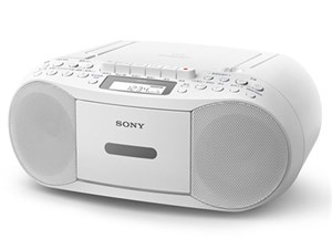 SONY CDラジカセ cfd-s70wc