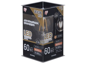 アイリスオーヤマ LDA7L-G/D-FC [LED電球(E26口金・60W相当・810lmm・電球色)・・・