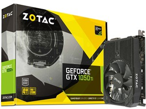 ZOTAC GeForce GTX 1050 Ti 4GB Mini ZT-P10510A-10L [PCIExp 4GB]