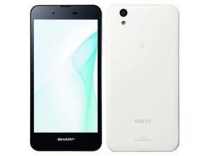 AQUOS SH-M04-A SIMフリー [White] (SIMフリー)