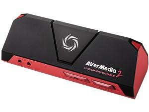 AVerMedia Live Gamer Portable 2 録画・ライブ配信に対応したゲームキャプチ・・・