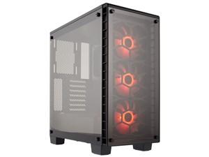 Corsair製 PCケース Crystal 460X RGB CC-9011101-WW ブラック