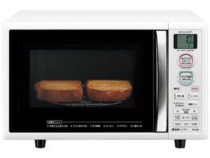 シャープ オーブンレンジ 電子レンジ 15L 1段調理 ブラック RE-S5E-W