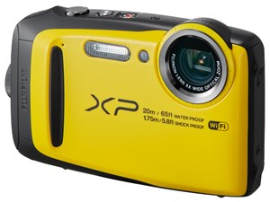 SDHC8GB付/富士フイルムFinePix XP120 [イエロー]【送料無料】I 平日お昼12・・・