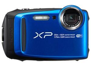 SDHC8GB付/富士フイルムFinePix XP120 [ブルー]【送料無料】I 平日お昼12時・・・