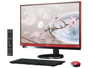 PC-DA770GAR [ラズベリーレッド] LAVIE Desk All-in-one DA770/GAR NE・・・