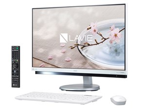 LAVIE Desk All-in-one DA770/GAW PC-DA770GAW [ファインホワイト]