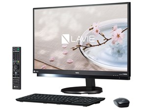 LAVIE Desk All-in-one DA770/GAB PC-DA770GAB [ファインブラック]