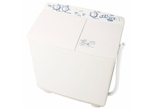 二槽式洗濯機 AQW-N551-W アクア 洗濯・脱水容量 5.5kg ホワイト