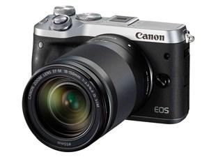 EOS M6 EF-M18-150 IS STM レンズキット [シルバー]