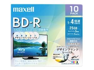 日立マクセル 録画用BD-R BRV25PME.10S