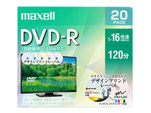 日立マクセル 録画用DVD-R DRD120PME.20S