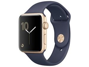 Apple Watch Series 2 42mm MQ1J2J/A [ゴールドアルミニウムケース/ミッドナ・・・