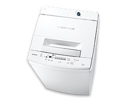 東芝【TOSHIBA】4.5kg 全自動洗濯機 AW-45M5-W★【AW-45M5W】